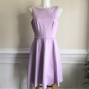 NWT Elle scallop lavender dress Sz S